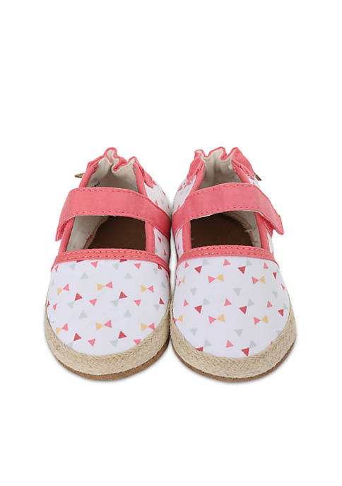 Robeez® Girls Bridget Espadrille Soft Sole Shoes-Infant/Toddler