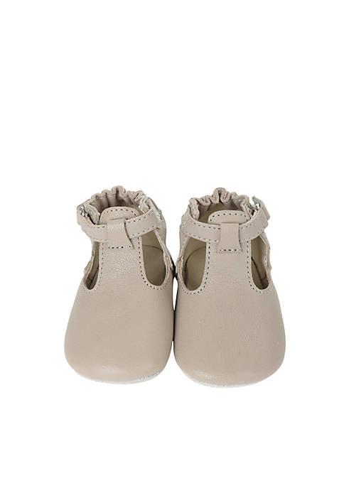 Robeez® Girls Penny T-Strap First Kicks Infant/Toddler