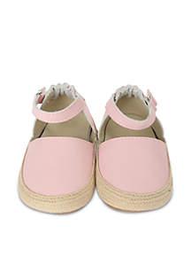 Robeez® Girls Kelly Espadrille First Kicks Infant/Toddler