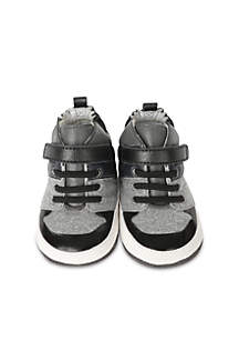 Robeez® Boys Zachary High Top Mini Shoes Infant/Toddler