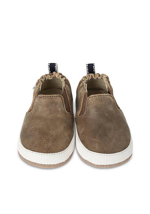 Robeez® Boys Lenny Loafer Mini Shoes Infant/Toddler