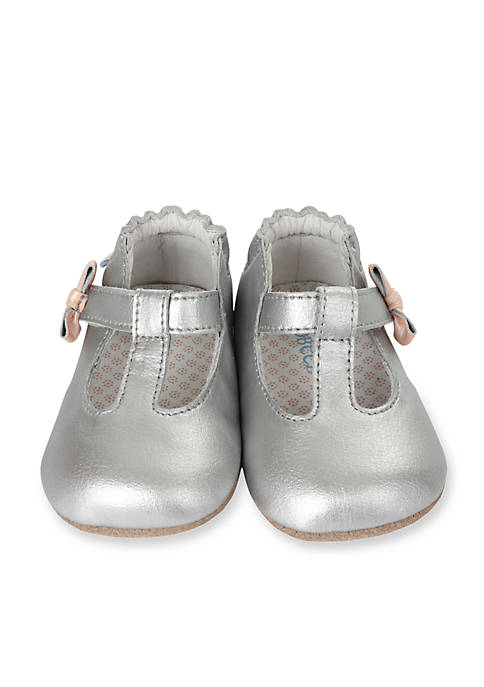 Robeez® Girls Teagans T-Strap Mini Shoes Infant/Toddler
