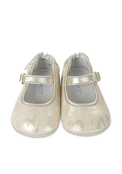Robeez® Girls Shannon Mary Jane Mini Shoes Infant/Toddler