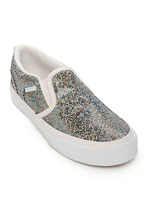 1de4c0804d VANS® Asher Glitter Sneaker - Girls Toddler Youth Sizes