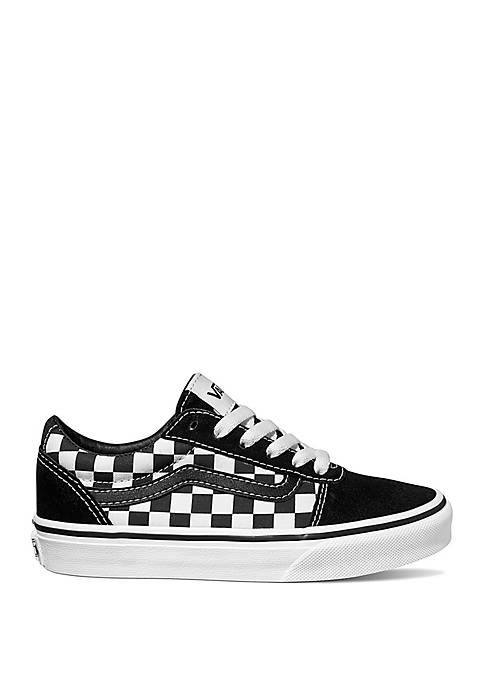 Boys Ward Checkered Sneakers