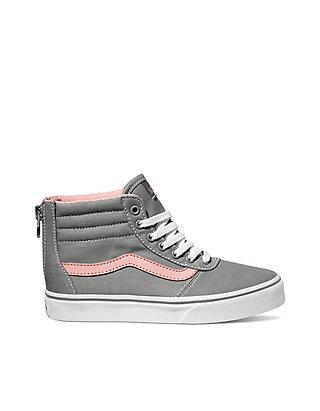 1d1d08de Maddie Hi Zip Girls Skate Shoes