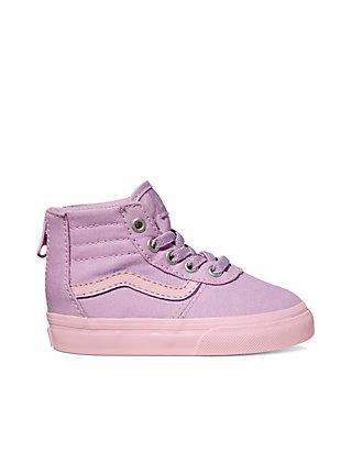 68d31c9a VANS® Girls Maddie Hi Zip Sneaker