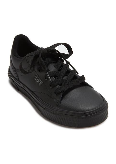 Youth Girls Seldan Black Sneakers
