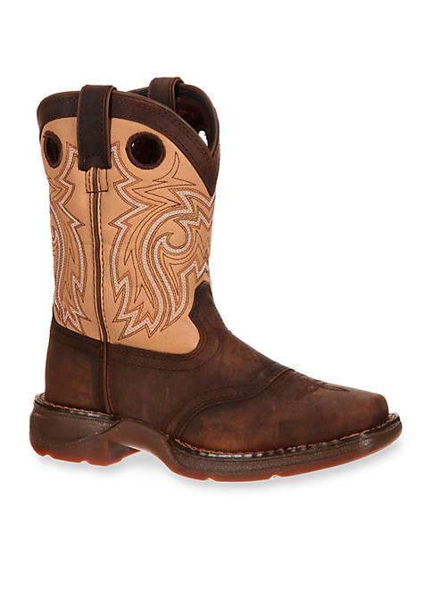 DURANGO® Lil Rebel Saddle Western Boot-Youth Sizes