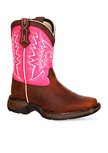 Lil Rebel Let Love Fly Western Boot- Girl's Toddler Sizes