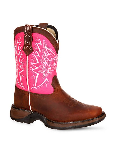 DURANGO® Lil Rebel Let Love Fly Western Boot-Toddler-Youth