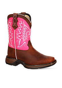 Lil Rebel Let Love Fly Western Boot-Youth Sizes