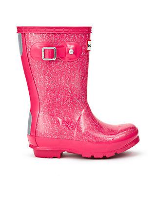 9119fc51624a Hunter Girl's Original Glitter Finish Rain Boot- Youth   belk