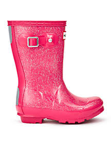Girl's Original Glitter Finish Rain Boot- Youth