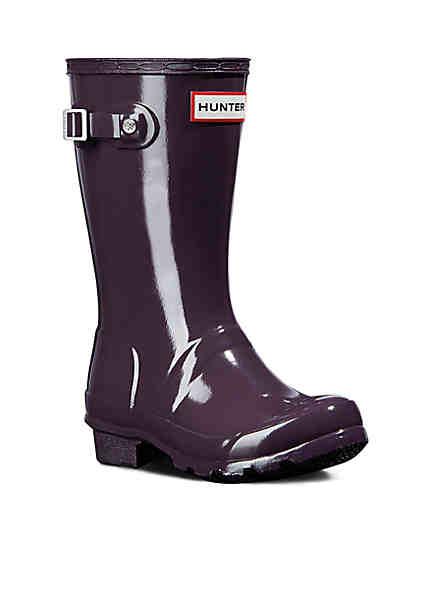 Hunter Girl's Original Gloss Boot - Youth Hunter undefined