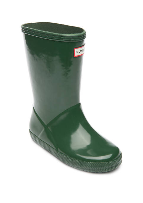 Hunter Girl's Classic Gloss Rain Boot