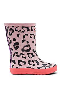 Girls Toddler Classic Leopard Rain Boot