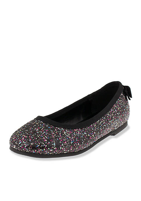 Capelli New York Girls Glitter Flat- Toddler/Youth
