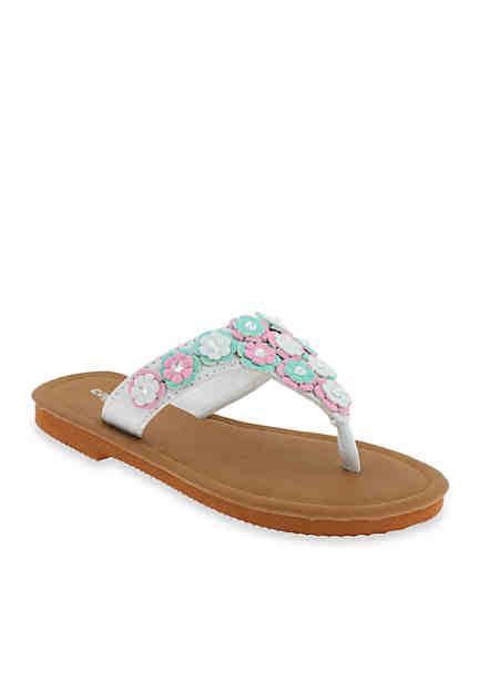 Capelli New York Multi-Flower Sandals ...