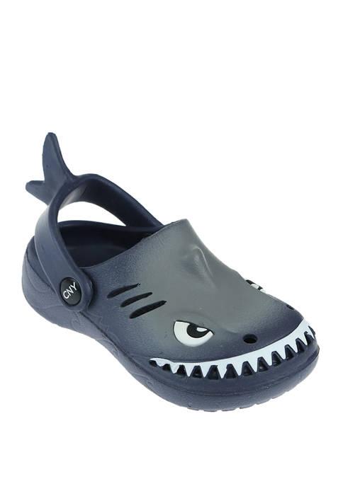 Capelli New York Toddler Boys Shark Clogs