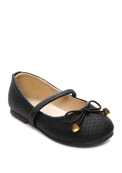 Capelli New York Toddler Girls Quilted Flats
