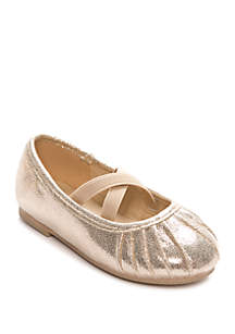 Capelli New York Toddler Girls Gold Flats