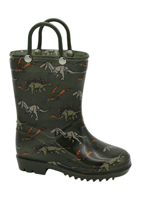 Capelli New York Toddler Boys Dino Rain Boots