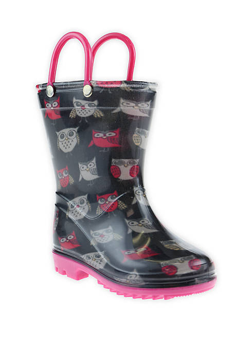 Capelli New York Toddler Girls Rain Boots