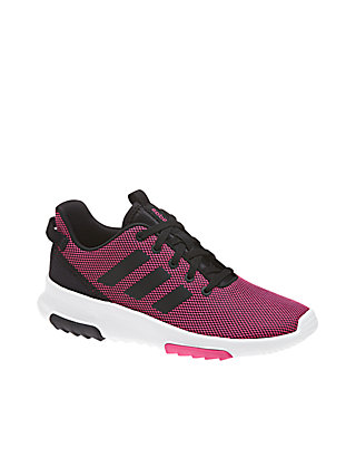 Adidas Kids Girls Shoes Running Cloudfoam Racer TR Fashion Trainers B75659 New