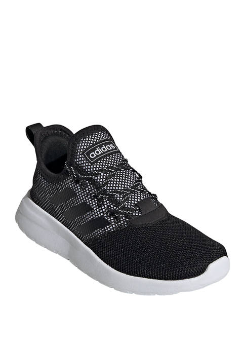 adidas Boys Youth Black and Gray Lite Racer