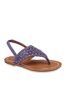 3980ce54b7692e ... Olivia Miller Girl s T Strap Sandals - Youth