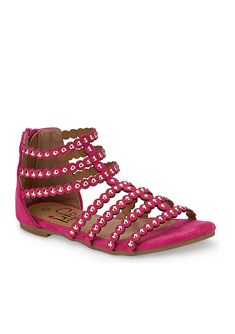 Girls Studded Gladiator Sandals - Youth