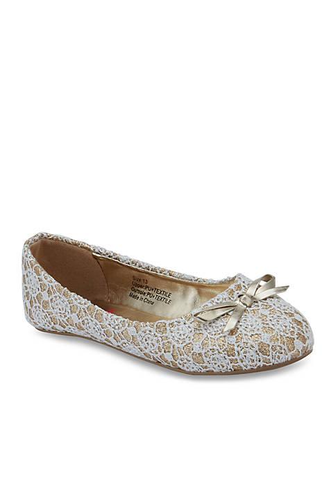 Olivia Miller Girls Cherie Ballet Flats- Youth