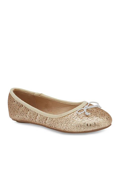 Olivia Miller Girls Hedi Ballet Ballet Flats- Youth