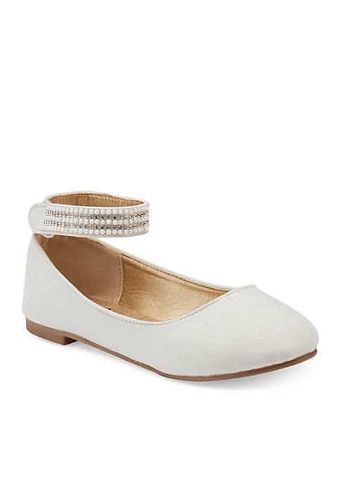 Olivia Miller Toddler/Youth Girls Jewel Ballet Flat