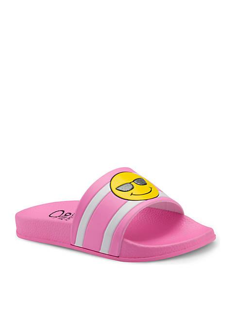 Toddler/Youth Girls Emoji Slide
