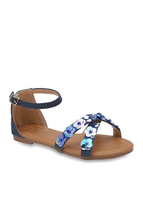 Olivia Miller Girls Mirabelle Sandals- Youth