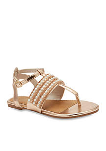 2bd1304a1a2dfe ... Olivia Miller Girls Brisee T-strap Sandals- Youth