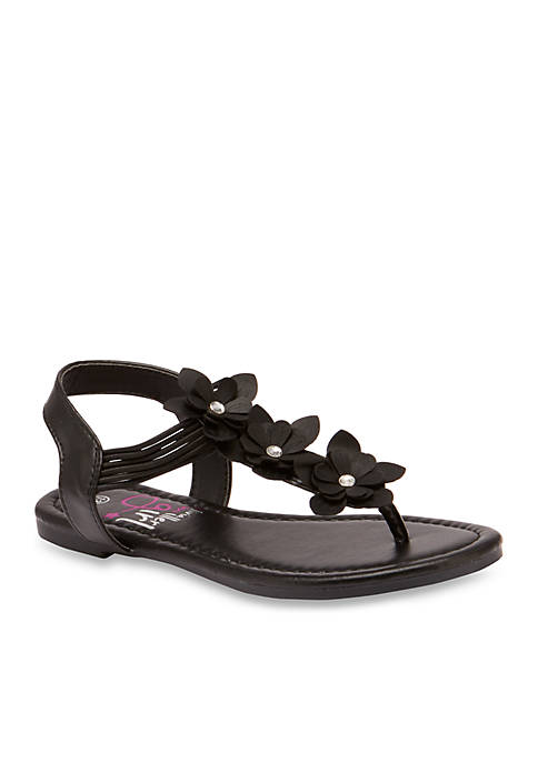 Toddler/Youth Girls Floral Sandals