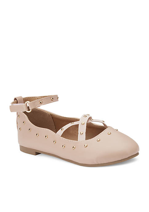 Olivia Miller Girls Youth Pepette Flats