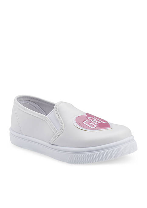Girls Youth Slip-on Sneakers