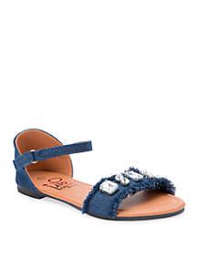 Girl's Denim Sandal