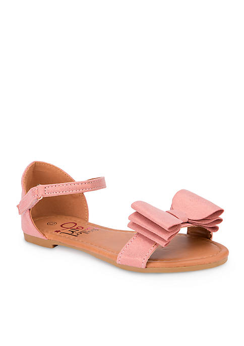 Olivia Miller Toddler/Youth Girls Bow Sandal