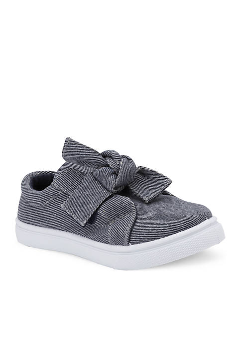 Olivia Miller Toddler/Youth Girls Shimmer Slip Ons