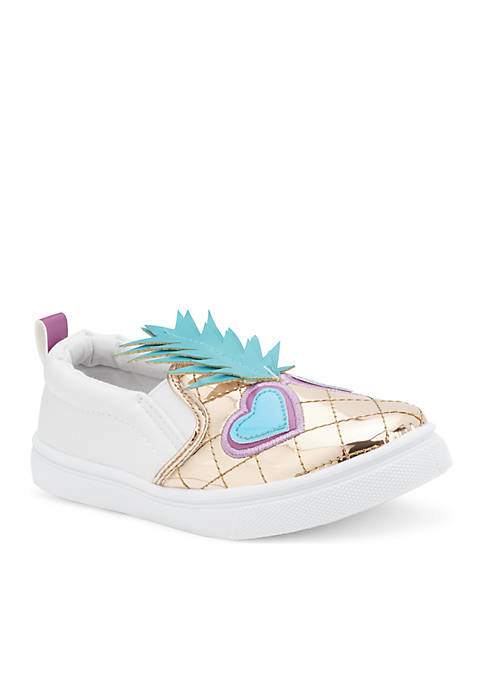 Olivia Miller Girls Youth Colibri Slip-On Sneakers