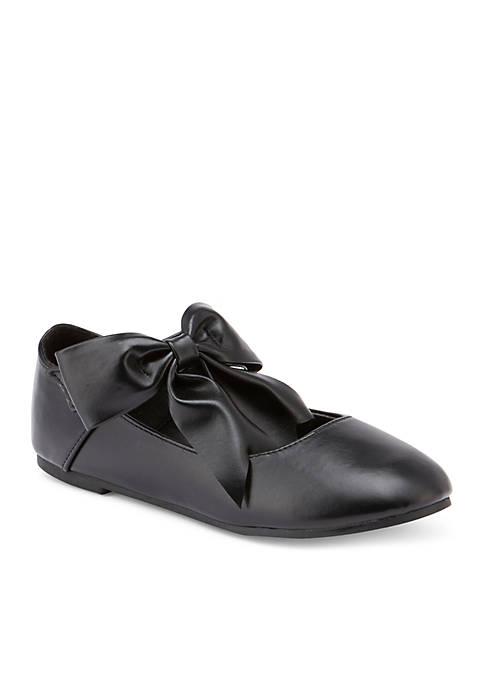 Olivia Miller Girls Elisse Ballet Flat