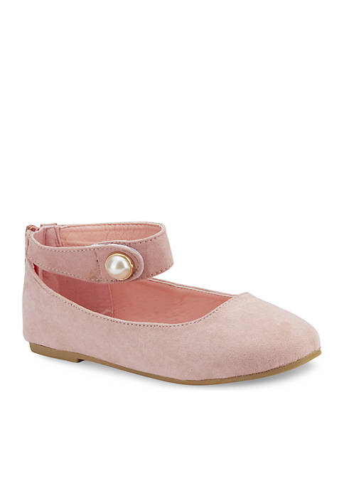 Olivia Miller Youth Girls Caille Ballet Flats