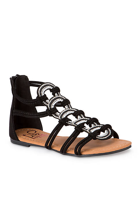 Olivia Miller Lys Gladiator Sandals- Youth Girls