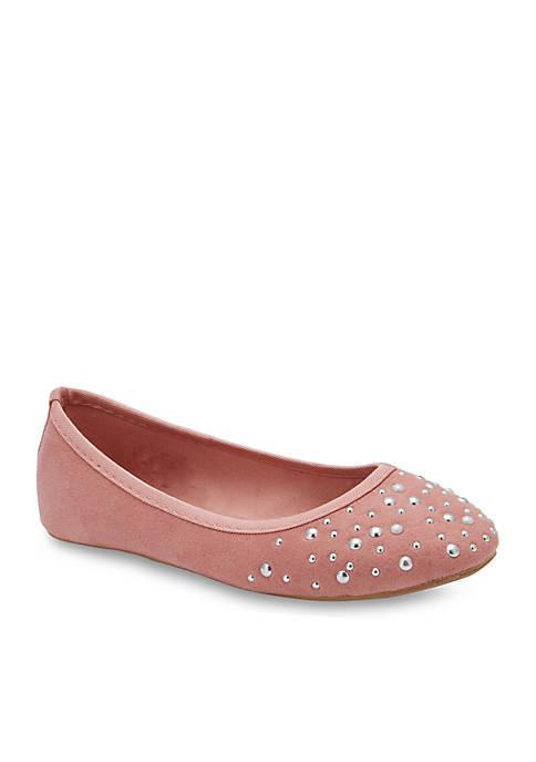 Olivia Miller Girls Tournesol Ballet Flat