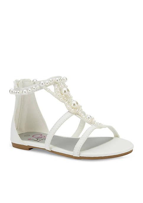 Olivia Miller Girls Pearl Sandal